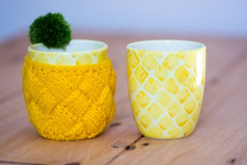Pineapple Mug and Cosy