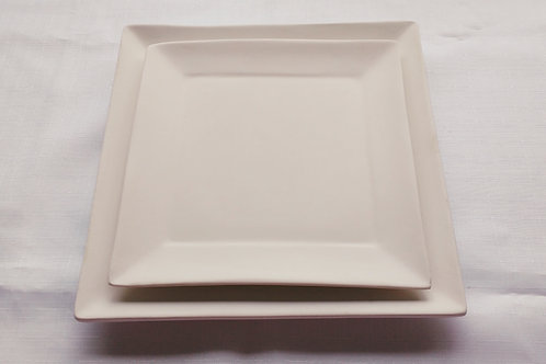Square Plates: Paint it Yourself Kit!