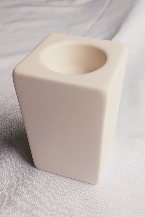 Tea Light Candle Holder: Paint it Yourself Kit!