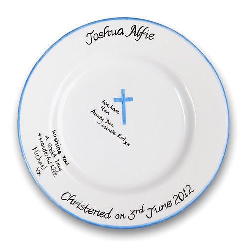 Traditional Christening: Signature Pottery