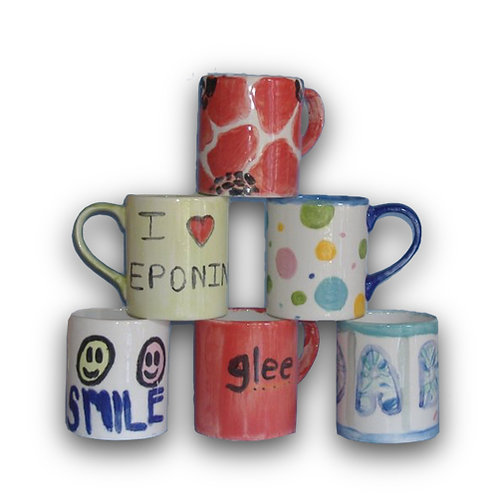 It's a Mug's Game! Paint it Yourself Party Kit