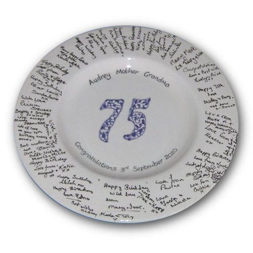 Number Birthday: Signature Pottery