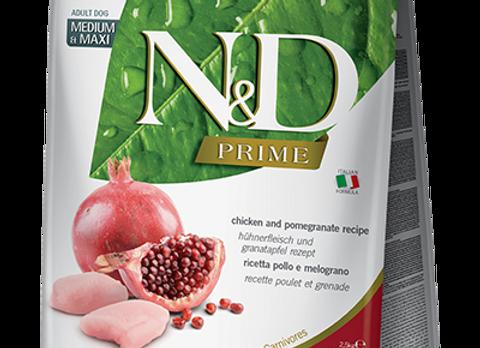 Farmina - Prime - CHICKEN & POMEGRANATE ADULT - Med&Max