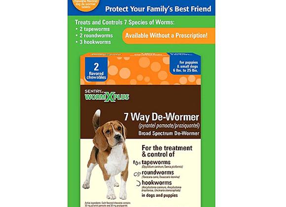 Sentry HC® WormX Plus | Small Dog