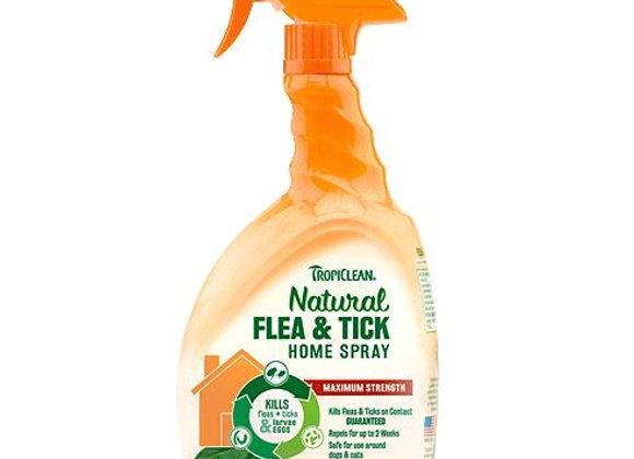 TROPICLEAN Natural Flea & Tick Home Spray 32oz
