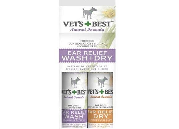 Vet's Best - Ear Relief | Wash & Dry