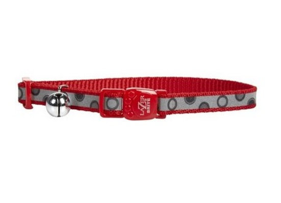 Lazer Brite Safe Collar in Red