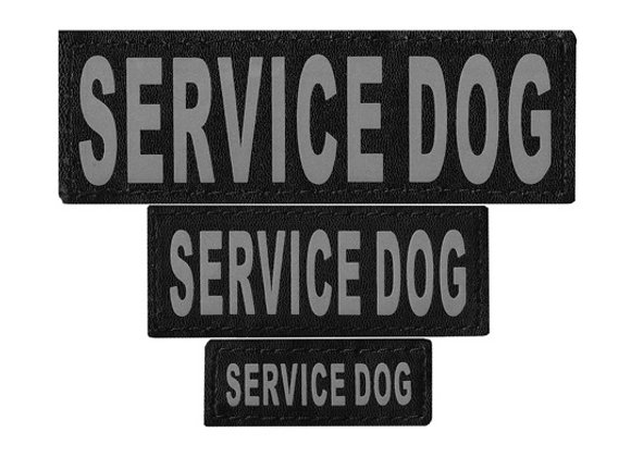 Dogline Velcro Patches for Service, Training, & Support Animals