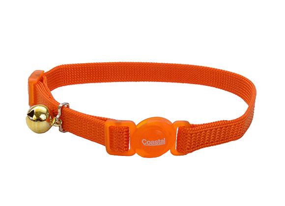 Coastal Adjustable Safe Collar | Sunset Orange