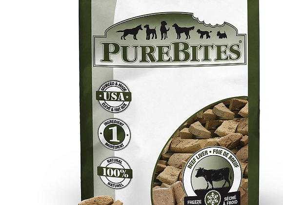 Pure Bites Freeze Dried Beef Liver