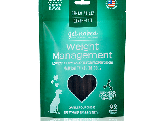 Get Naked Dental Chews - Weight Management