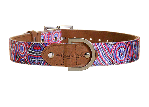 Outback Tails Leather Dog Collar | Digging Truffles