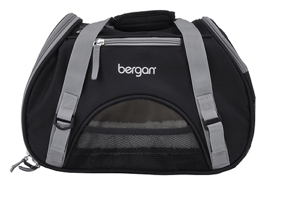 Bergan Comfort Carrier | Black & Gray