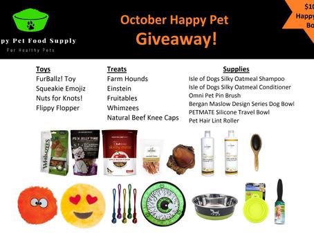Happy Pet Giveaway