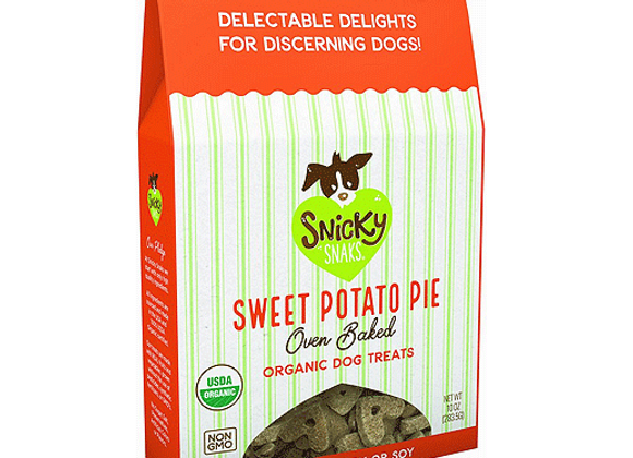 Snicky Snaks - Sweet Potato Pie 10oz - Baked Organic Treats