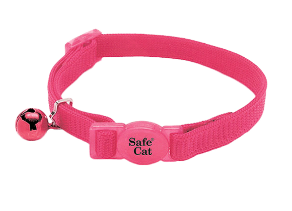 Coastal Adjustable Safe Collar | Pink Flamingo