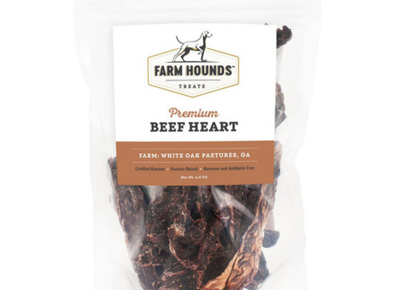 Beef Heart- 4.5oz - Farm Hounds Treats
