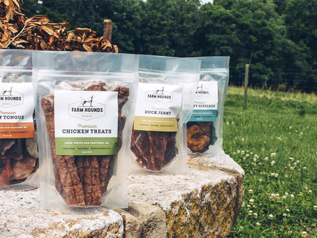 Farm Hounds Treats - The Dehydrated, Protein Rich Snack for Healthy Dogs