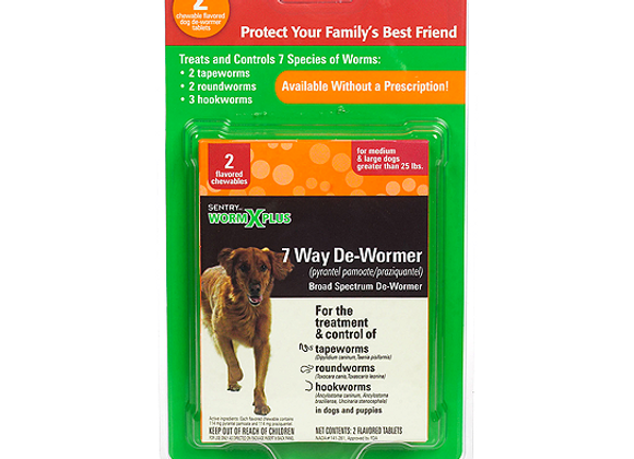 Sentry HC® WormX Plus™ | Large Dog