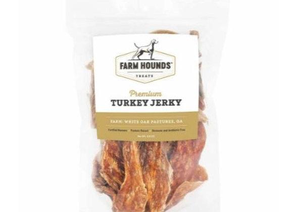 Turkey Jerky- 4.5oz - Farm Hounds Treats
