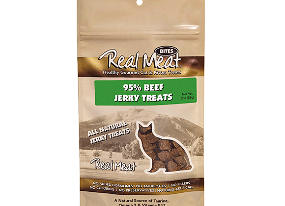 Real Meat Cat Treats | Beef 3oz