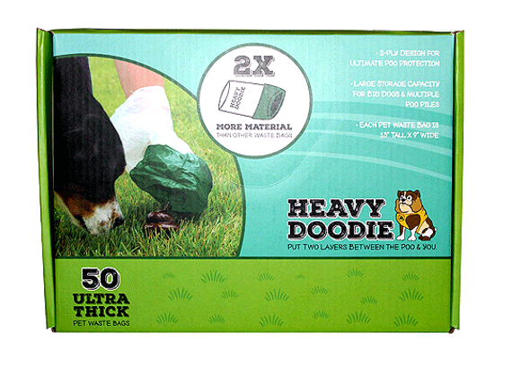 P.A.W. Heavy Doodie 50/100/200 Count