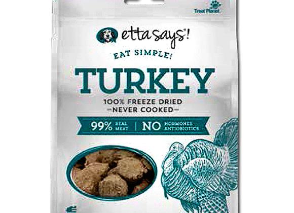 Etta Says Eat Simple! Freeze Dried Treats Turkey