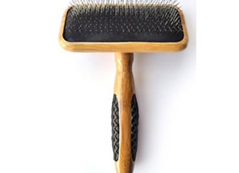 Bass Slicker Bamboo Brush