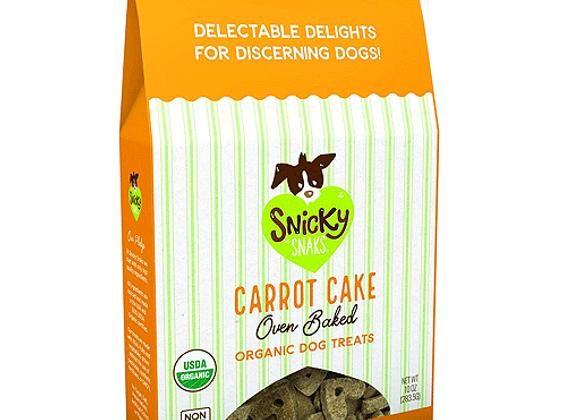 Snicky Snaks - Carrot Cake 10oz - Baked Organic Treats