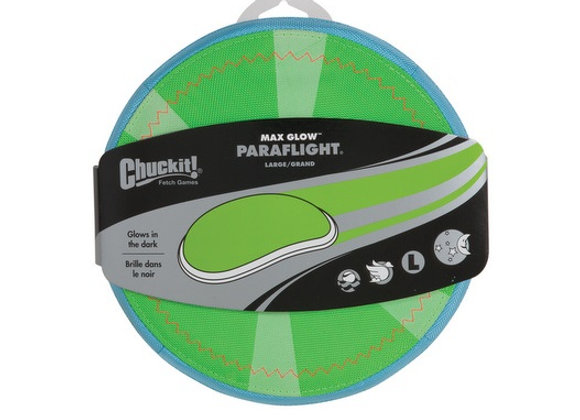 ChuckIt! Paraflight - Max Glow - Large