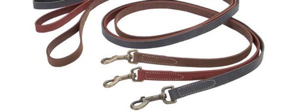 Coastal Rustic Leather Leashes