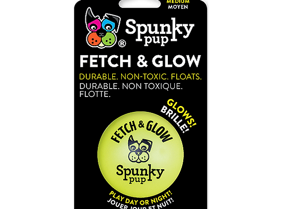 Spunky Pup - Fetch & Glow Ball