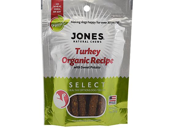 Jones Select Turkey Organic Recipe 4oz