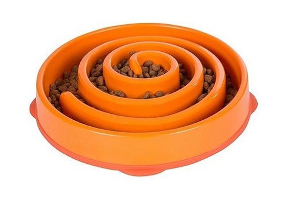 Fun Feeder Orange by Outward Hound