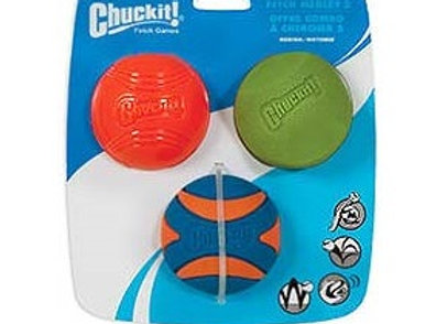 Chuck It! Fetch Medley 2 - 3 Pack