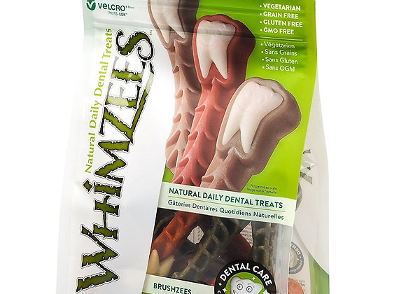 Whimzees - Brushzees - Medium- 12 Piece