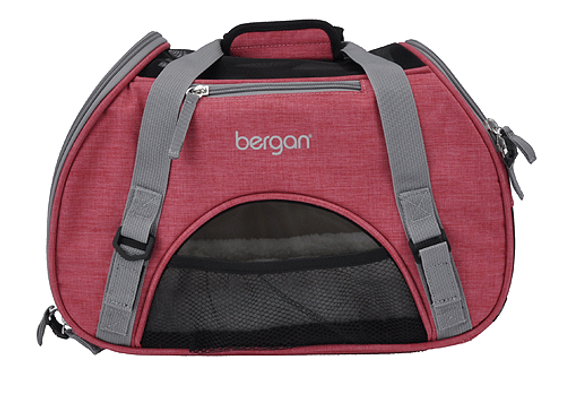 Bergan Comfort Carrier | Berry & Gray