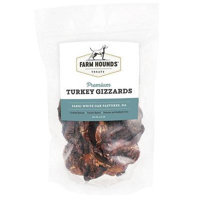 Turkey Gizzards - 4.5oz - Farm Hounds Treats