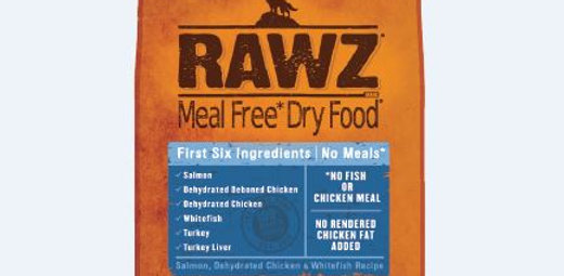 RAWZ - Salmon, Dehydrated Chicken & Whitefish - Meal Free - K9