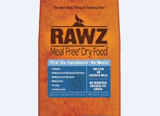 RAWZ - Salmon, Dehydrated Chicken & Whitefish - Meal Free - K9