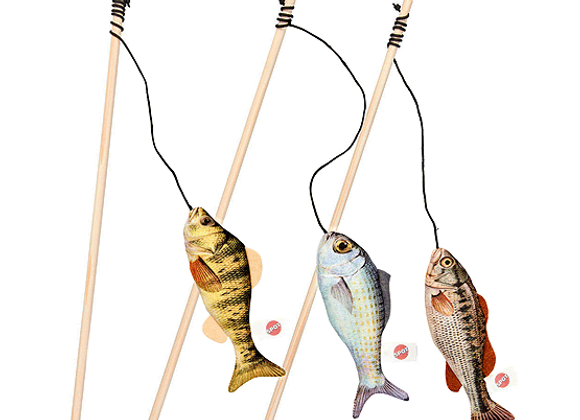 Ethical Gone Fishin' Teaser Wand Asstt