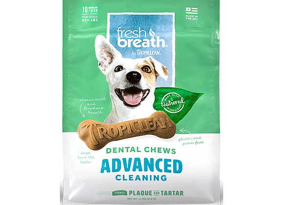 Fresh Breath Advanced Cleaning Dental Chews | Regular (10)