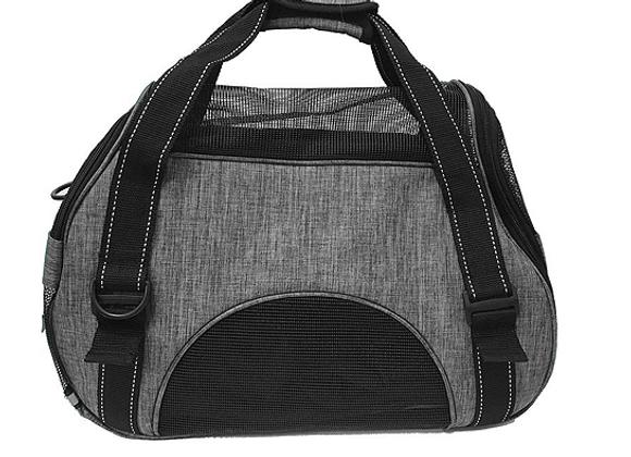 Dogline Pet Carrier Bag in Grey
