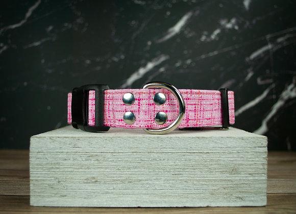 Pink Pattern Dog Collar