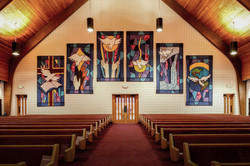 worship sanctuary banners
