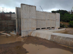 New weir on Tsomo River