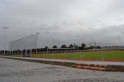 New Astroturf field, and surrounds