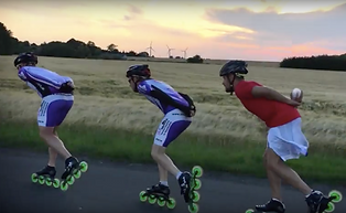 inline Skaters on video