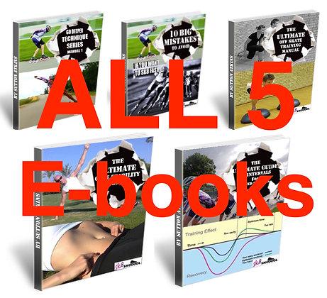 ALL 5 E-books