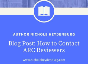 How to Contact ARC Reviewers